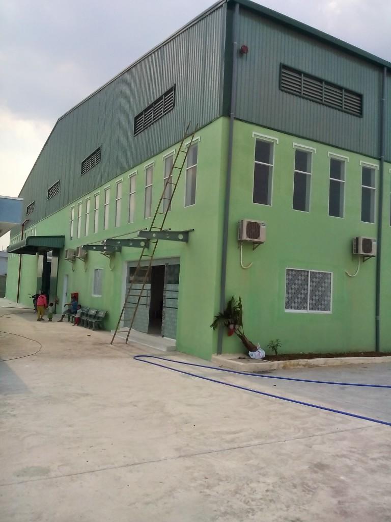 Sửa chữa văn phòng- nhà xưởng 03/2017