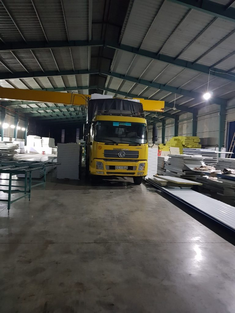 Thi công lắp dựng panel eps, pu, sợi thủy tinh cho phòng sạch tại Bình Dương, Đồng Nai, Bà Rịa